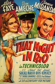 1941 - That Night in Rio Movie Poster
