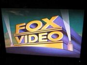 Fox Video 1990s Logo