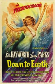 1947 - Down to Earth Movie Poster