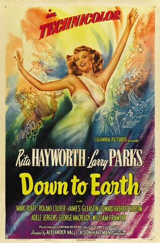 File:1947 - Down to Earth Movie Poster.jpg