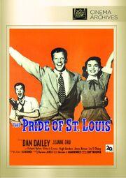 1952 - The Pride of St. Louis DVD Cover (2014 Fox Studio Classics)