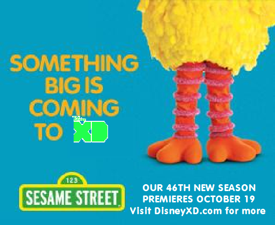 File:Sesame Street season 46 Disney XD poster.png