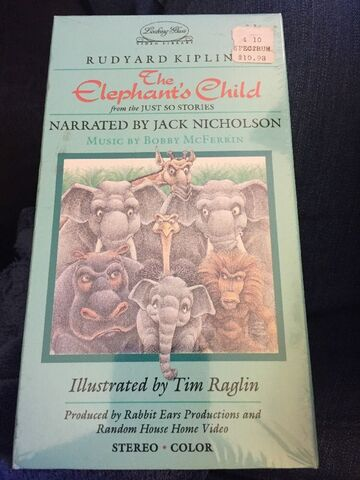 File:The Elephant's Child 1986 VHS Cover.jpg