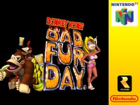 Donkey Kongs Bad Fur Day