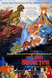 Simba, Timon, and Pumbaa's Adventures of The Land Before Time