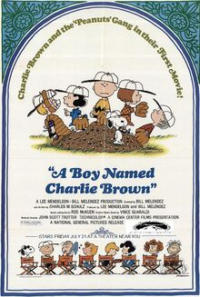 A Boy Named Charlie Brown 1995 Re-Release Poster