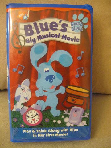 File:Blue's Big Musical Movie VHS.JPG