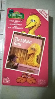 The Alphabet Game VHS