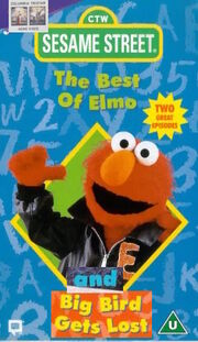 The best of elmo big bird gets lost 1996 uk vhs