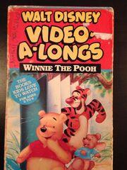 Walt Disney Video-A-Longs Winnie The Pooh VHS