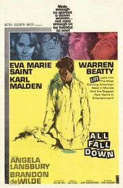 1962 - All Fall Down Movie Poster
