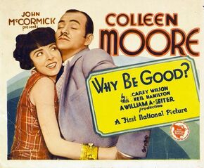 1929 - Why Be Good