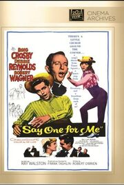 1959 - Say One for Me DVD Cover (2013 Fox Cinema Archives)