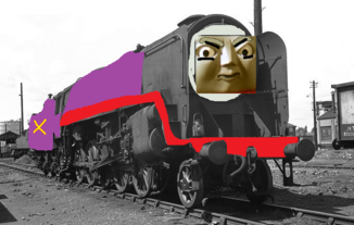 PurpleNose the Purple Big Engine
