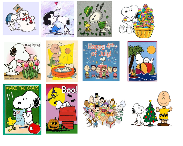 File:Snoopy Holidays, Months Of The Year.png