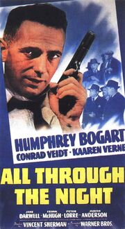 1942 - All Through the Night Movie Poster