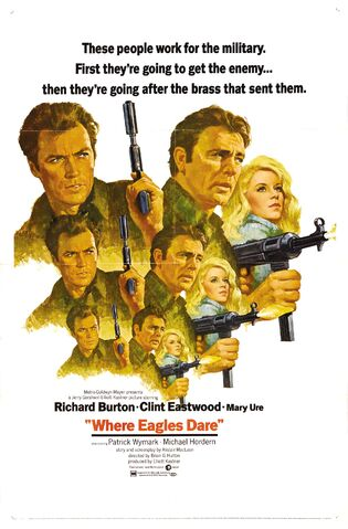 File:1968 - Where Eagles Dare Movie Poster.jpg