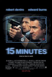2001 - 15 Minutes Movie Poster