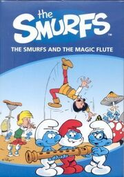 The Smurfs and the Magic Flute 1976 DVD Cover