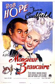 1946 - Monsieur Beaucaire Movie Poster