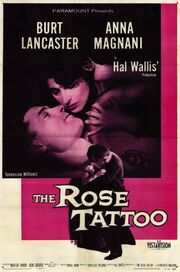 1955 - The Rose Tattoo Movie Poster