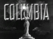 Columbia Pictures Logo in B&W (1943)