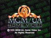 MGM UA Home Video Rainbow Copyright Scroll 1996