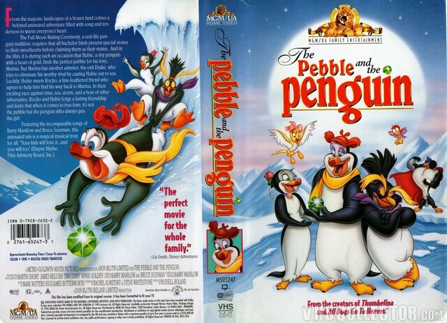 File:The Pebble And The Penguin VHS Cover.jpeg