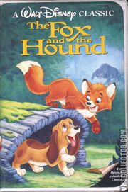 The Fox And The Hound VHS Front Cover
