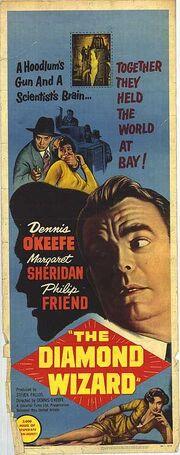 1954 - The Diamond Wizard Movie Poster