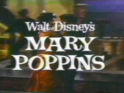 Mary Poppins from the Walt Disney and You Promo