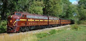 Pennsylvania Office Train - PRR 5771 & 5809