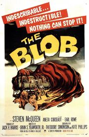 1958 - The Blob Movie Poster