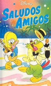 Saludos Amigos VHS