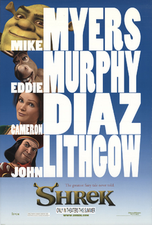 Shrek (2001) Teaser Poster