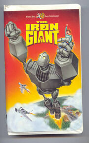 The iron giant spanish vhs
