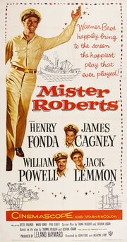 1955 - Mister Roberts Movie Poster