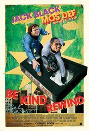 2008 - Be Kind Rewind Movie Poster