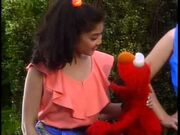 Celina and Elmo from Sesame Street 25th Birthday A Musical Celebration Preview
