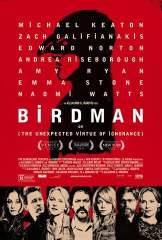 File:2014 - Birdman Movie Poster.jpg