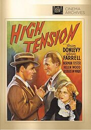 1936 - High Tension DVD Cover (2014 Fox Cinema Archives)