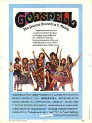 1973 - Godspell Movie Poster