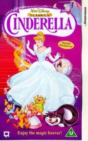 Cinderella 1992 VHS