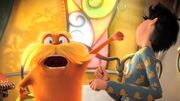 The lorax punching onceler in the face