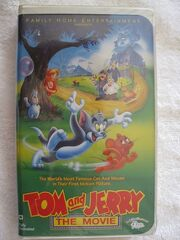 Tom and jerry the movie vhs