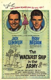 1960 - The Wackiest Ship in the Army Movie Poster