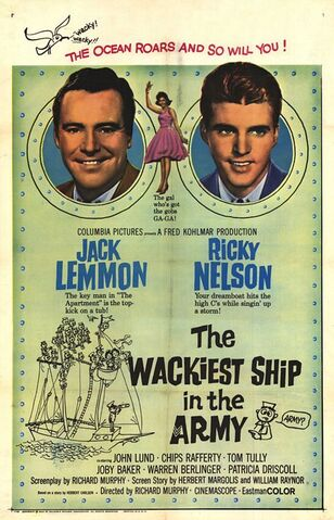 File:1960 - The Wackiest Ship in the Army Movie Poster.jpg