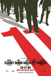 2001 - Ocean's Eleven Movie Poster