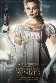 2016 - Pride and Prejudice and Zombies Movie Poster 1