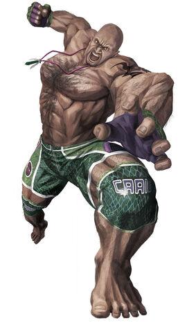 Craig Marduk from Tekken